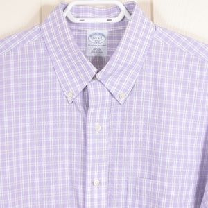 BrooksBros'346' 16.5-6/7 Button Down